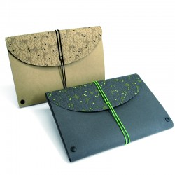 Unterarm-Mappe Leaves. Pack...