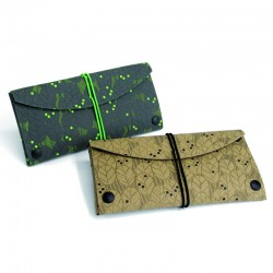 Pen case Leaves. Pack 4 pieces