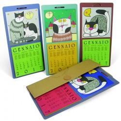 Calendario Gatti Conf. 4 pezzi